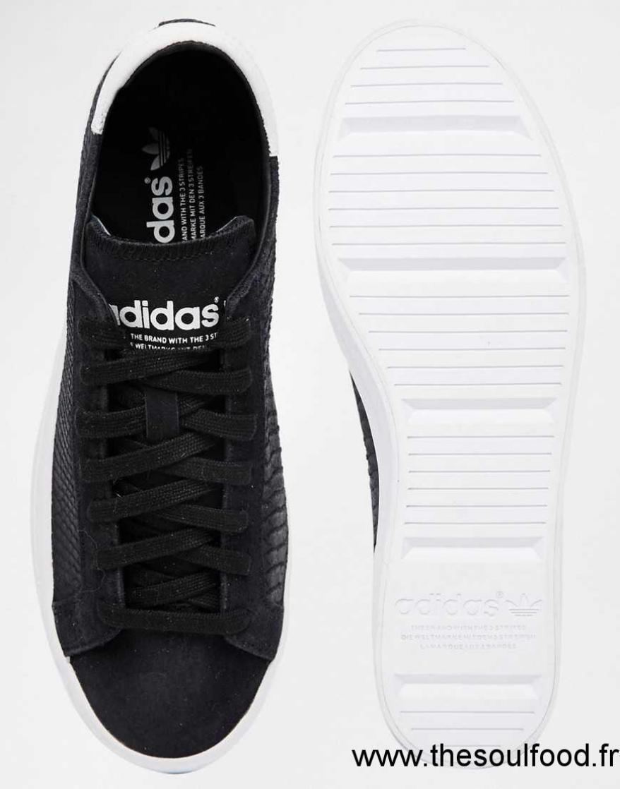 Adidas Original Court Vantage Noir