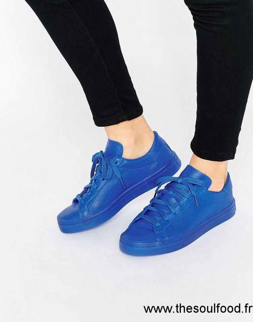 Adidas Originals - Court Vantage Super Colour - Baskets ...