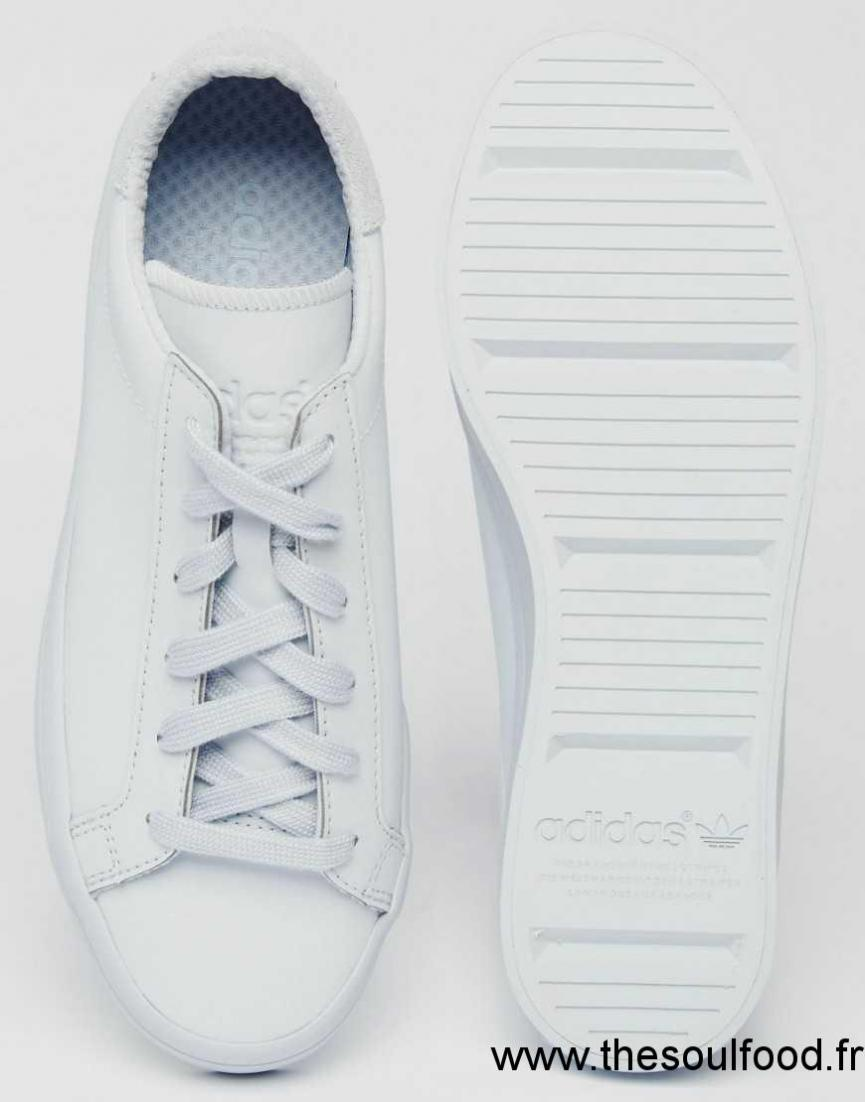 high fashion best price new cheap Adidas Originals - Court Vantage Super Colour Halo - Baskets ...