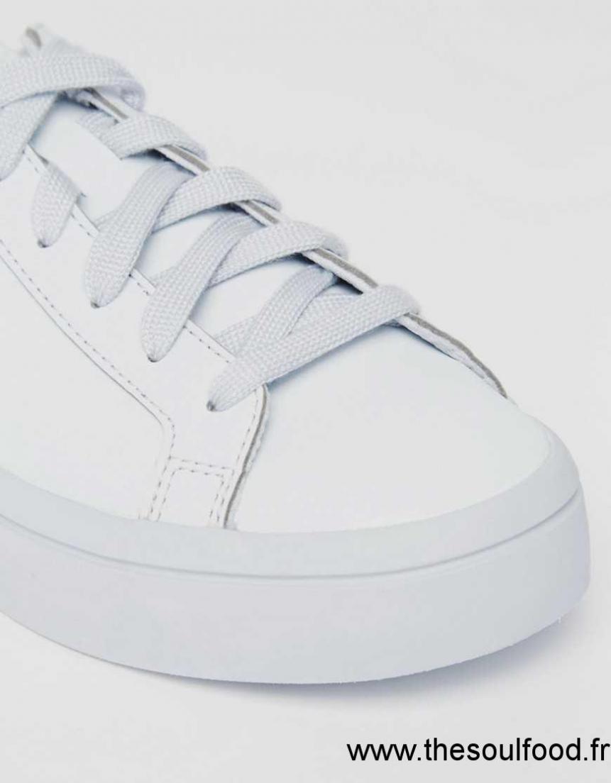 Adidas Baskets Halo Colour Super Originals Court Vantage Bleu vmw0N8nO