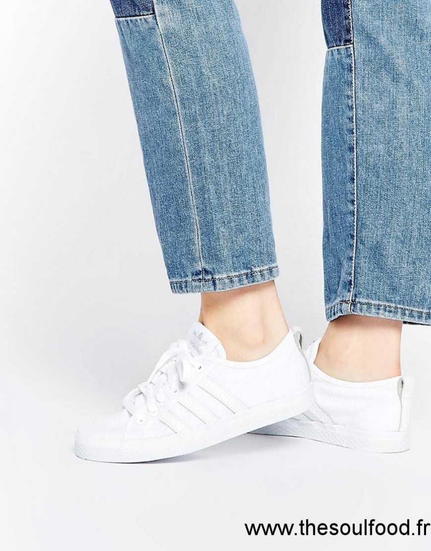 acheter populaire 93ee5 df1fd Adidas Originals - Honey - Baskets Basses En Toile Femme ...