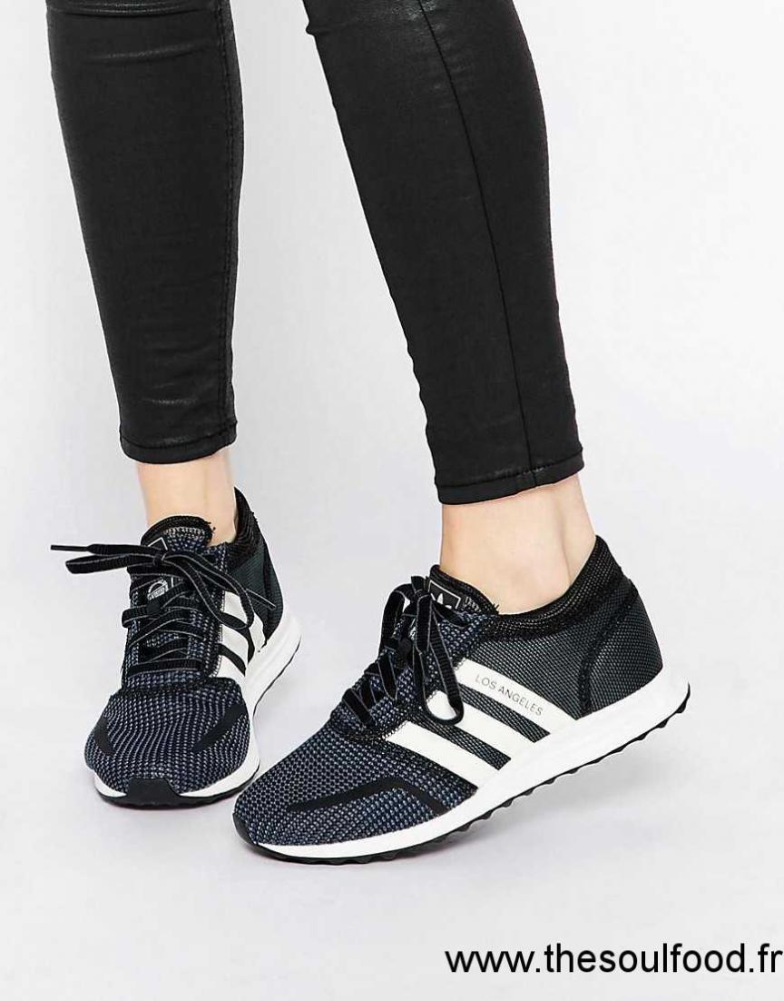 cheap for discount 52506 9b7b4 Adidas Originals - Los Angeles - Baskets - Noir Et Blanc Femme Noir  Chaussures   Adidas France SC780071