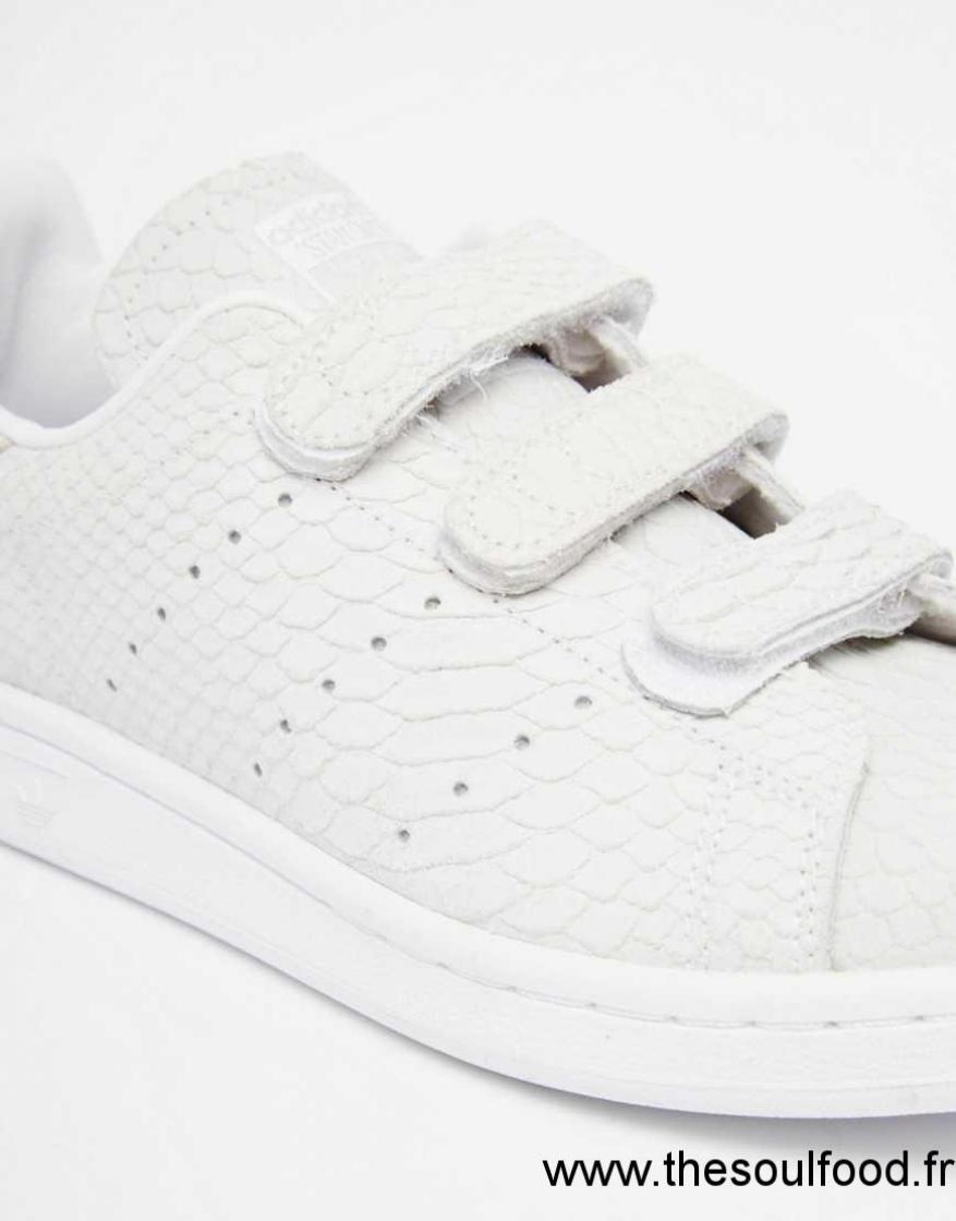 adidas stan smith femme scratch blanche