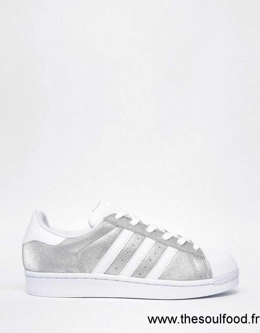 4afa758f9aa5 Adidas Originals - Superstar - Baskets - Argent Métallisé Femme Argenté  Chaussures | Adidas France QD030062