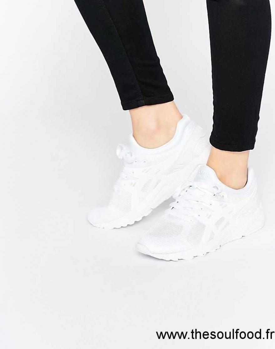 chaussure asics femme blanche