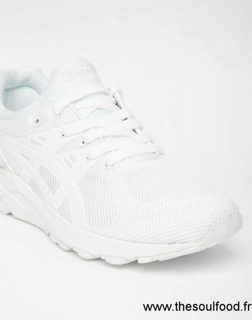 8c60134d3ec Asics - Gel Kayano Evo - Baskets - Blanc Femme Blanc Chaussures ...