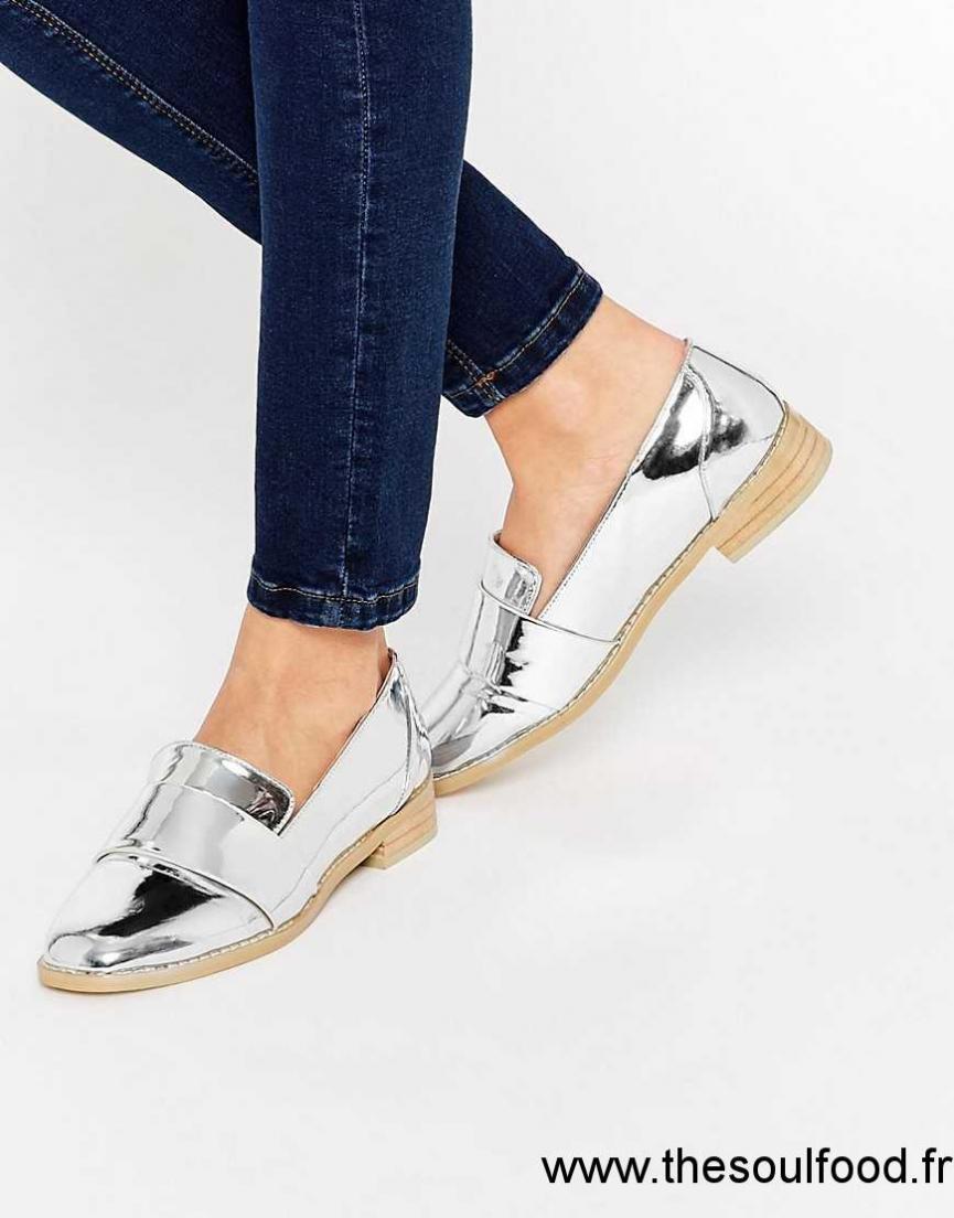 Noir Chaussures Bottines Look Femme New Richelieu wCzAP6q
