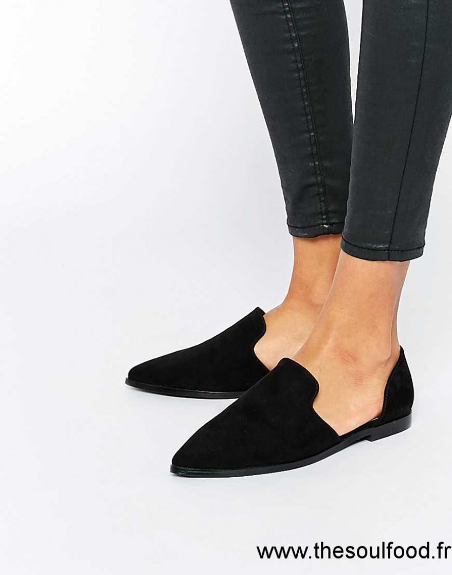 069b2a4fbac2 Asos - Milan - Chaussures Plates À Bout Pointu Femme Noir Chaussures | Asos  France BY2000956