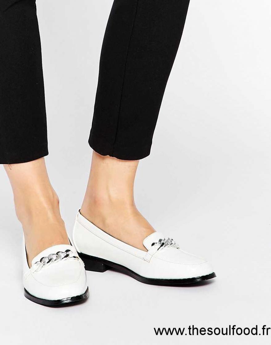 b4f832f8ee94 New Look - Mocassins Vernis À Pampilles Femme Noir Chaussures