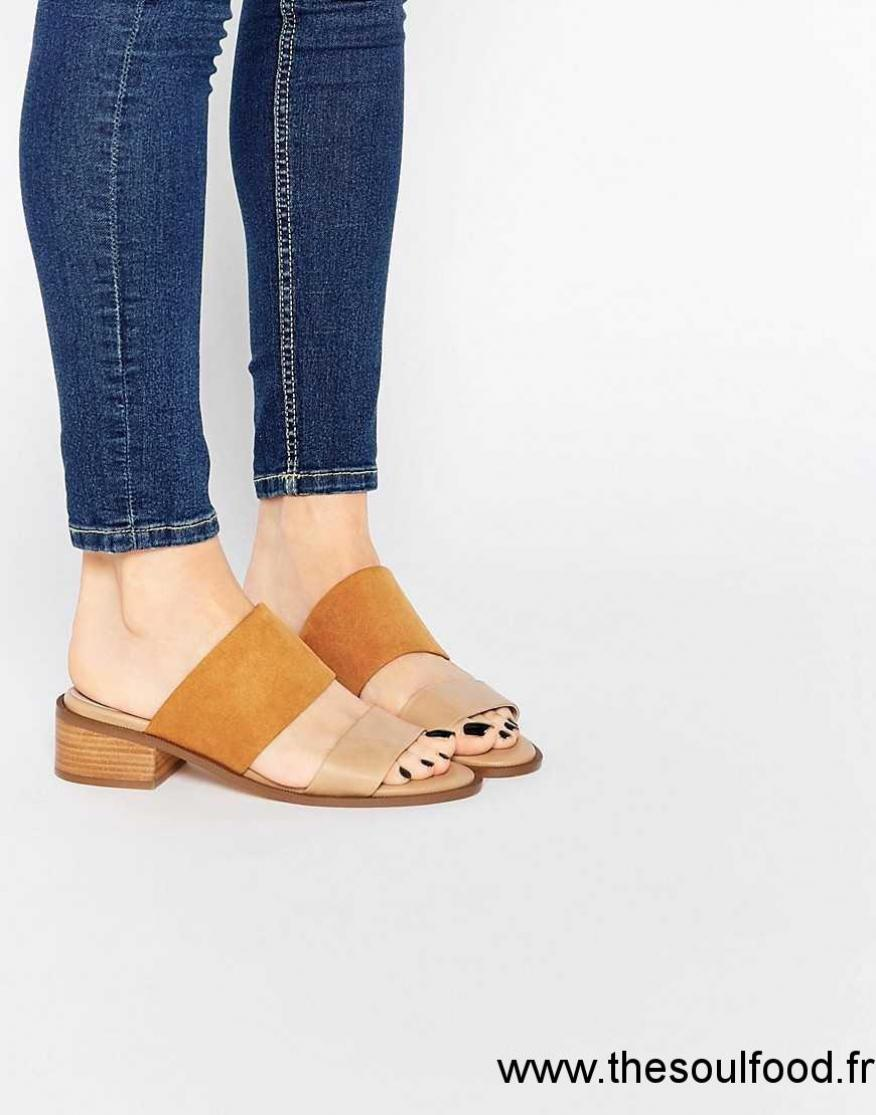 Mules À Chaussures Enfiler Style Nude Femme Sandales Asos Topic GVpqLSzUM