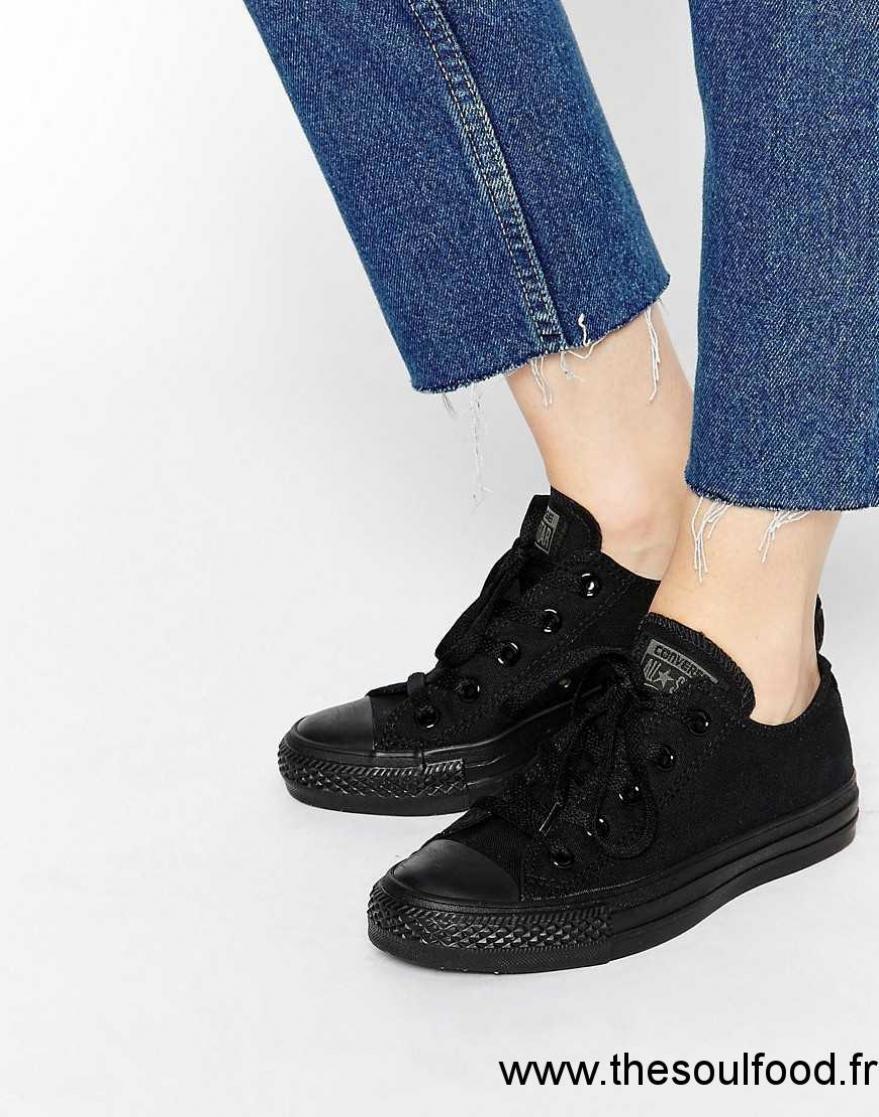 chaussure converse femme noir