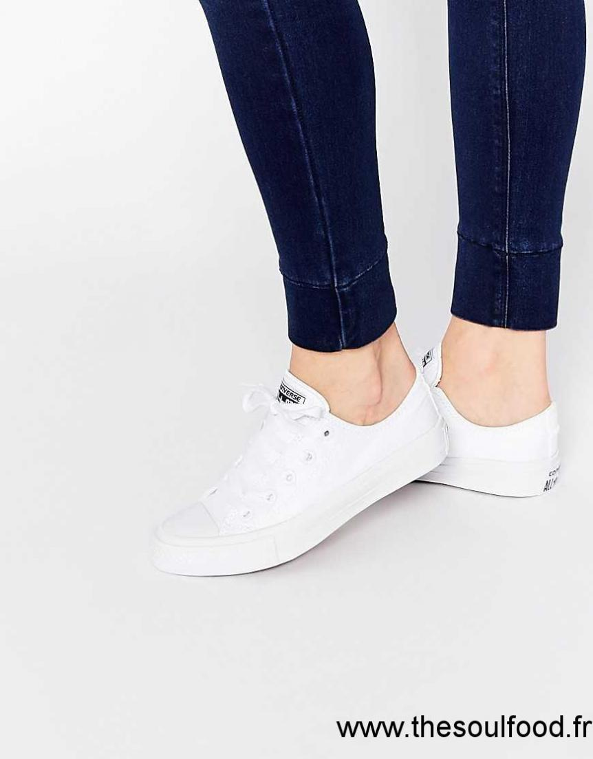 chaussure blanche femme converse