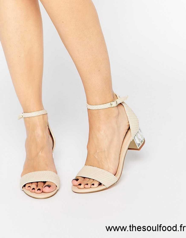 chaussure femme talon mi haut