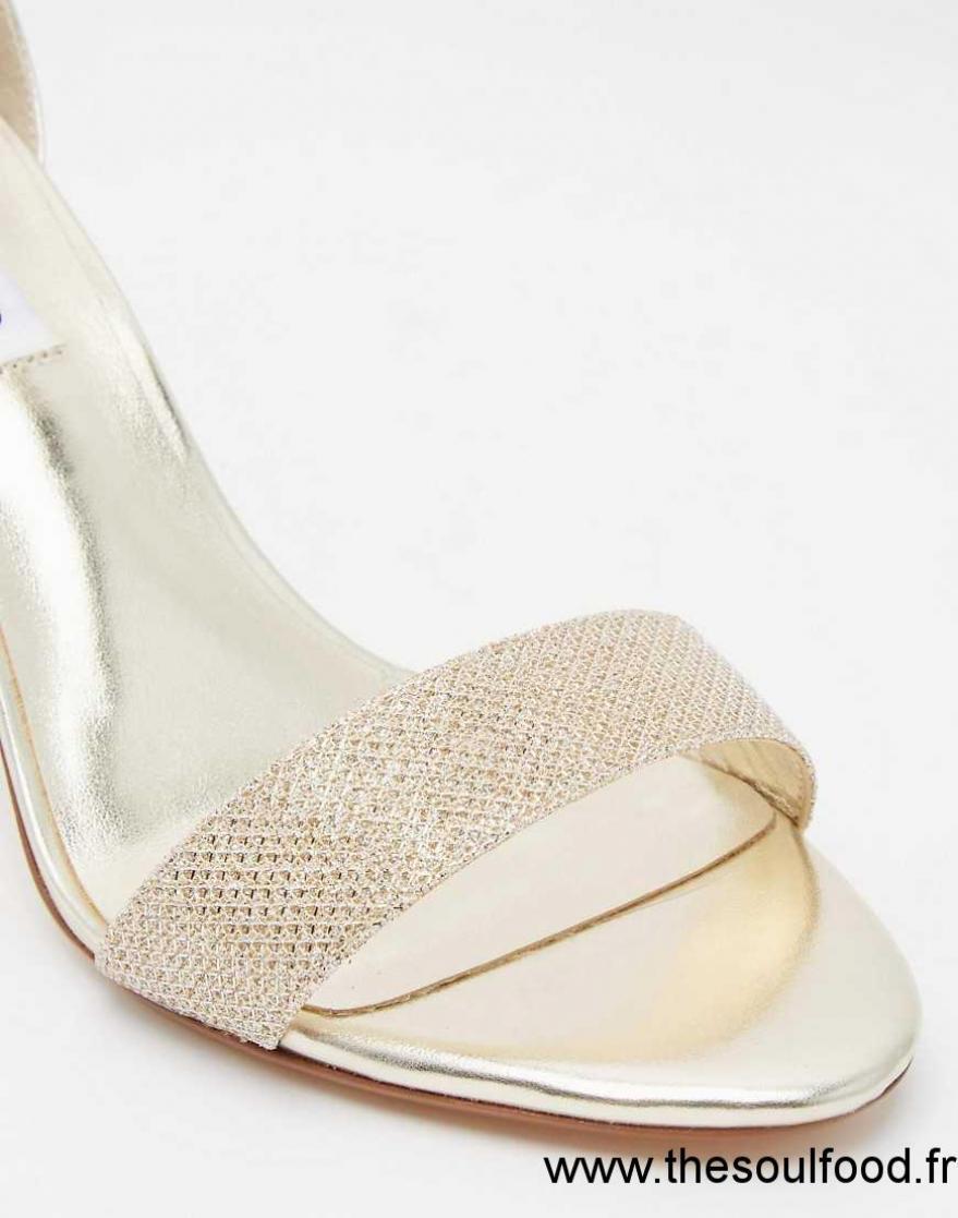 769274c19dd2 Dune - Mariee - Sandales En Lurex En Deux Parties - Doré Femme Champagne  Chaussures | Dune France XO12002042