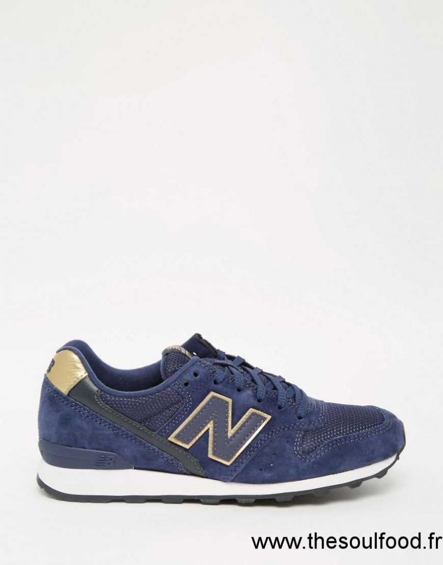 New Balance 996 Femme Bleu