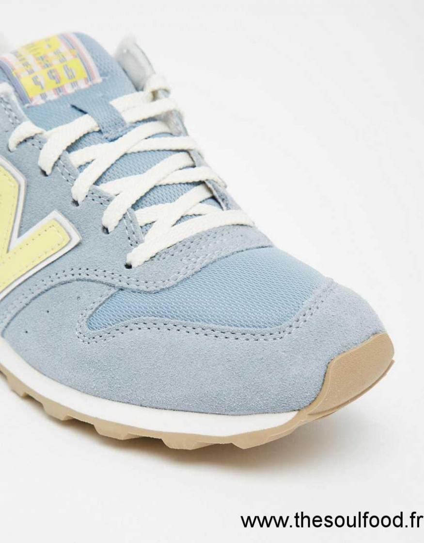 New Balance 996 Bleu Et Jaune