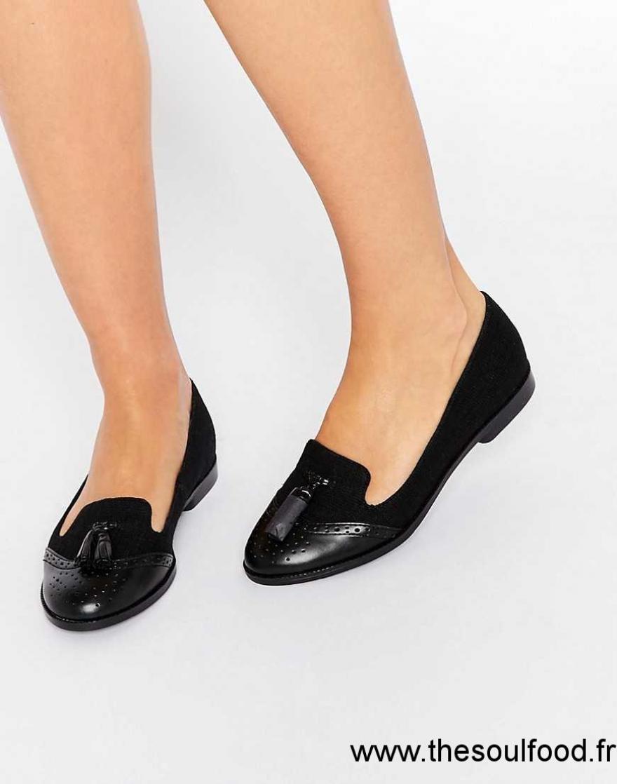 72ef30ce1fa New Look - Mocassins À Glands Femme Noir Chaussures