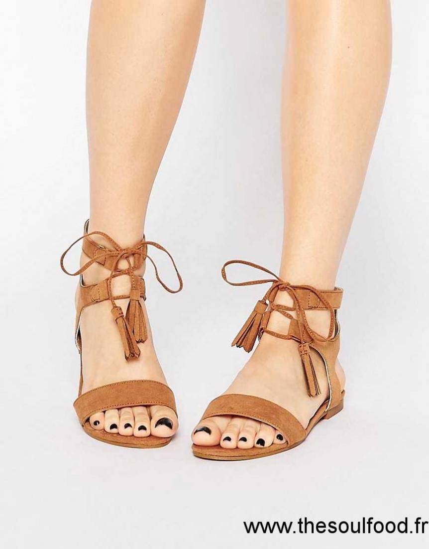 Look À Sandales New Lacets Femme Chaussures Larges 4cAR3LqSj5