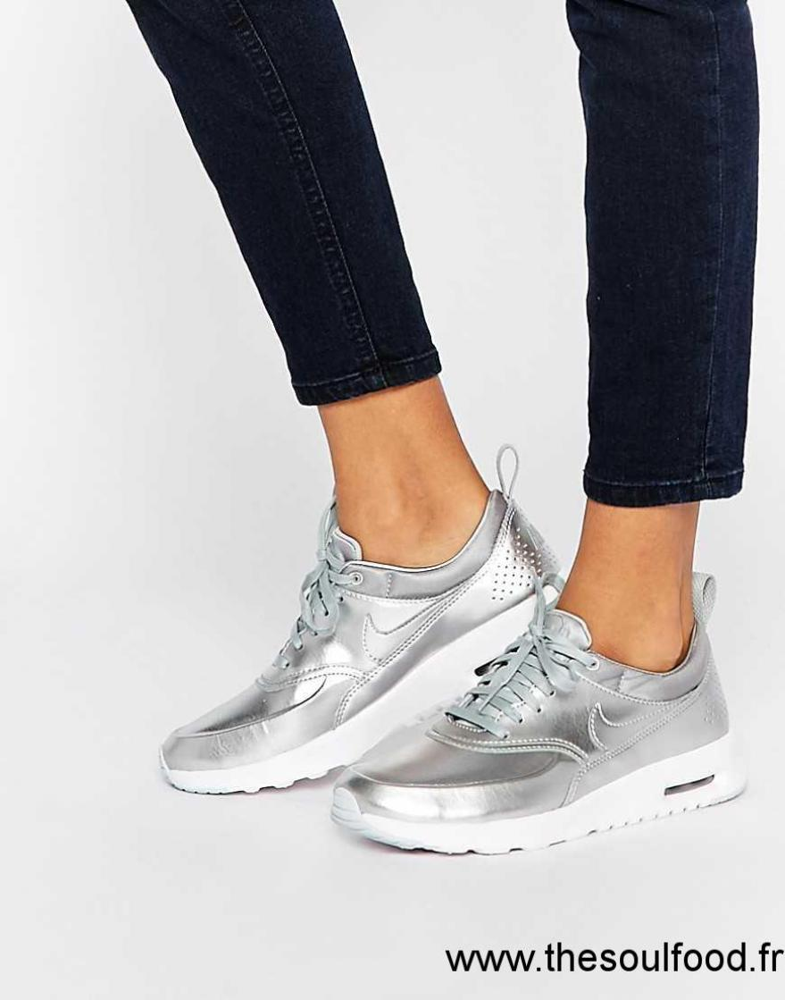 nike air max thea baskets argent femme argent chaussures nike france nd20003251. Black Bedroom Furniture Sets. Home Design Ideas
