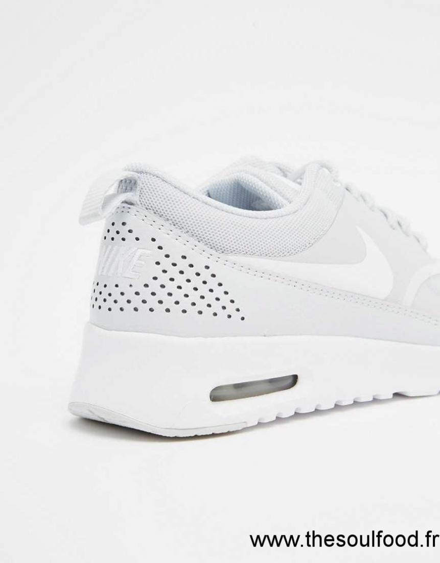 Nike Air Max Thea Baskets Blanc platine