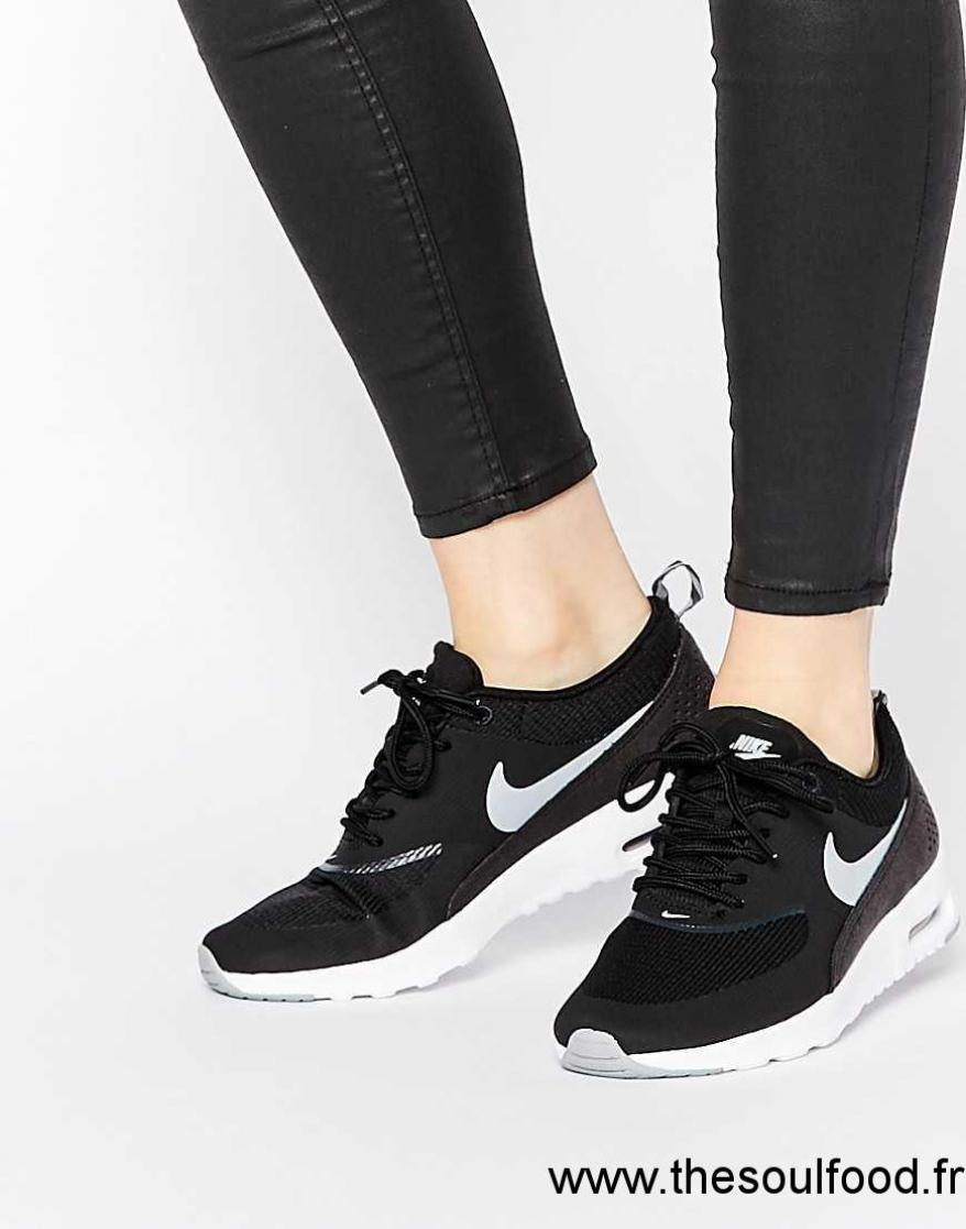 reputable site d340a 3e60c Nike - Air Max Thea - Baskets - Noir Femme Noir Chaussures  Nike France  CA73003234
