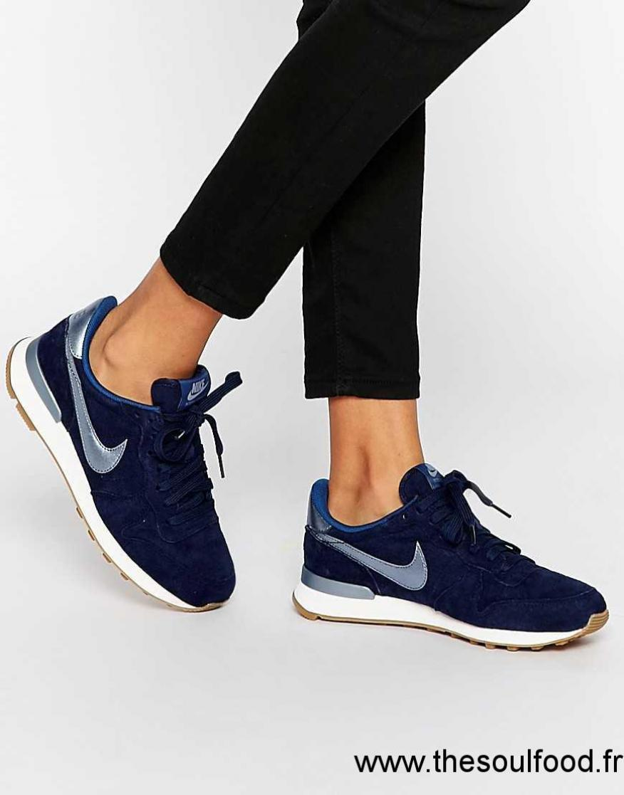 nike internationalist bleu marine femme
