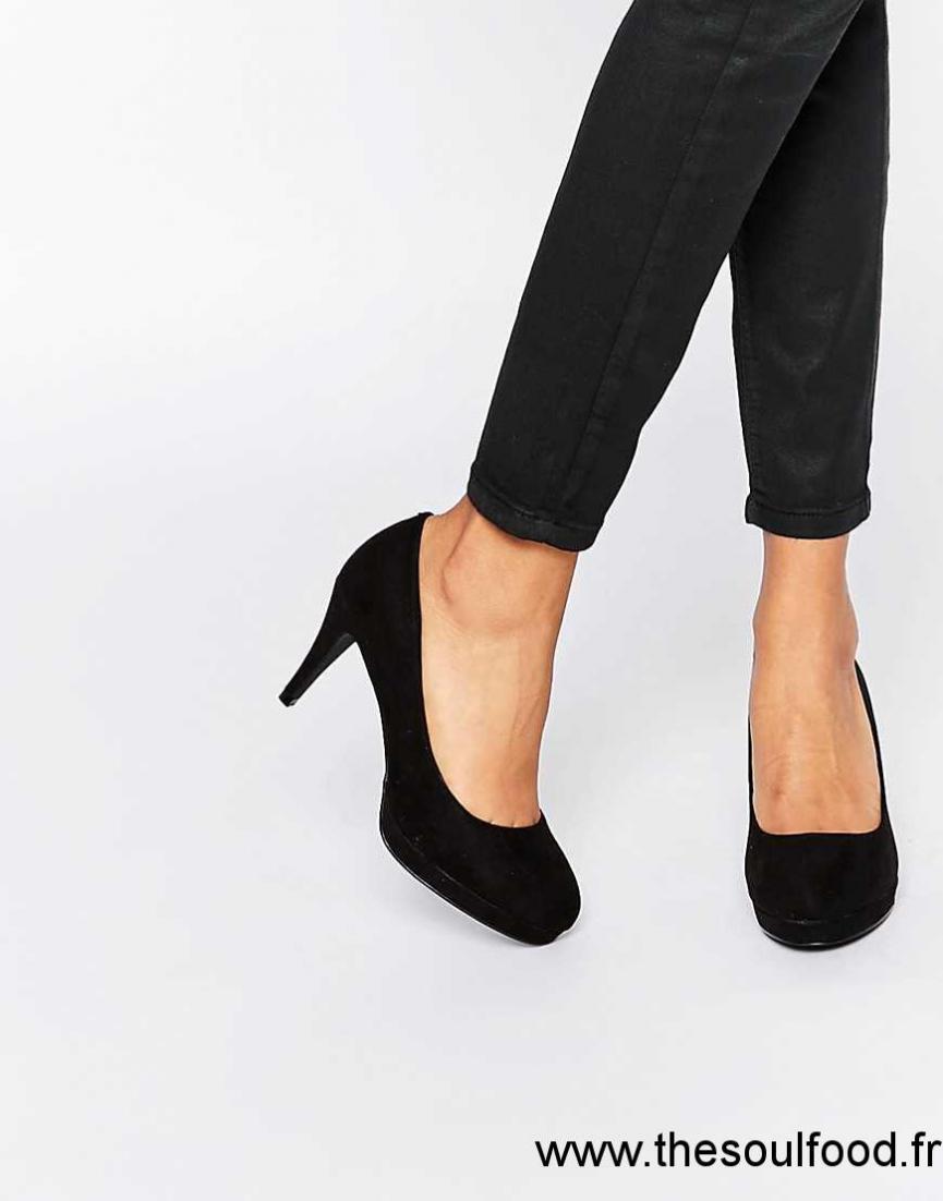 fa889a27b766 Oasis - Escarpins Femme Noir Chaussures