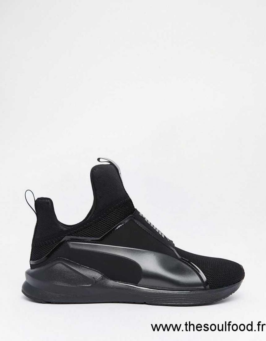 puma fierce core baskets noir femme noir chaussures puma france cv09003630. Black Bedroom Furniture Sets. Home Design Ideas