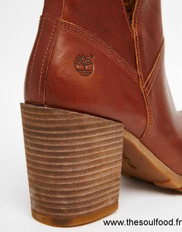 bottines a talon timberland femme