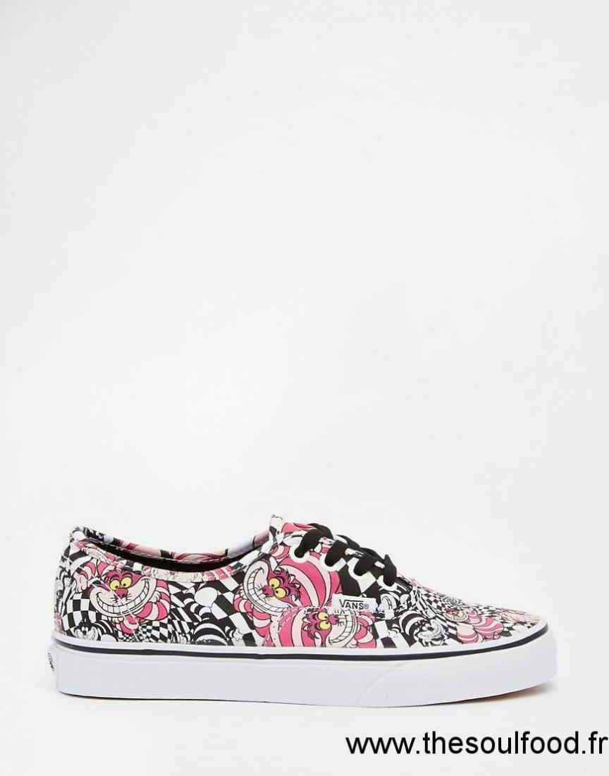 Vans Chaussures Authentic Disney Baskets Femme Vans