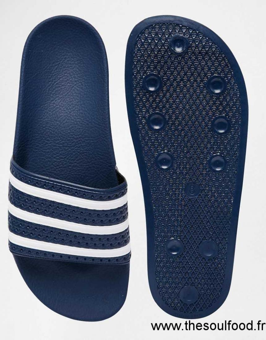 promo code afccf e8751 Adidas Originals - Adilette 288022 - Mules Homme Bleu Chaussures   Adidas  Originals France XA9000184