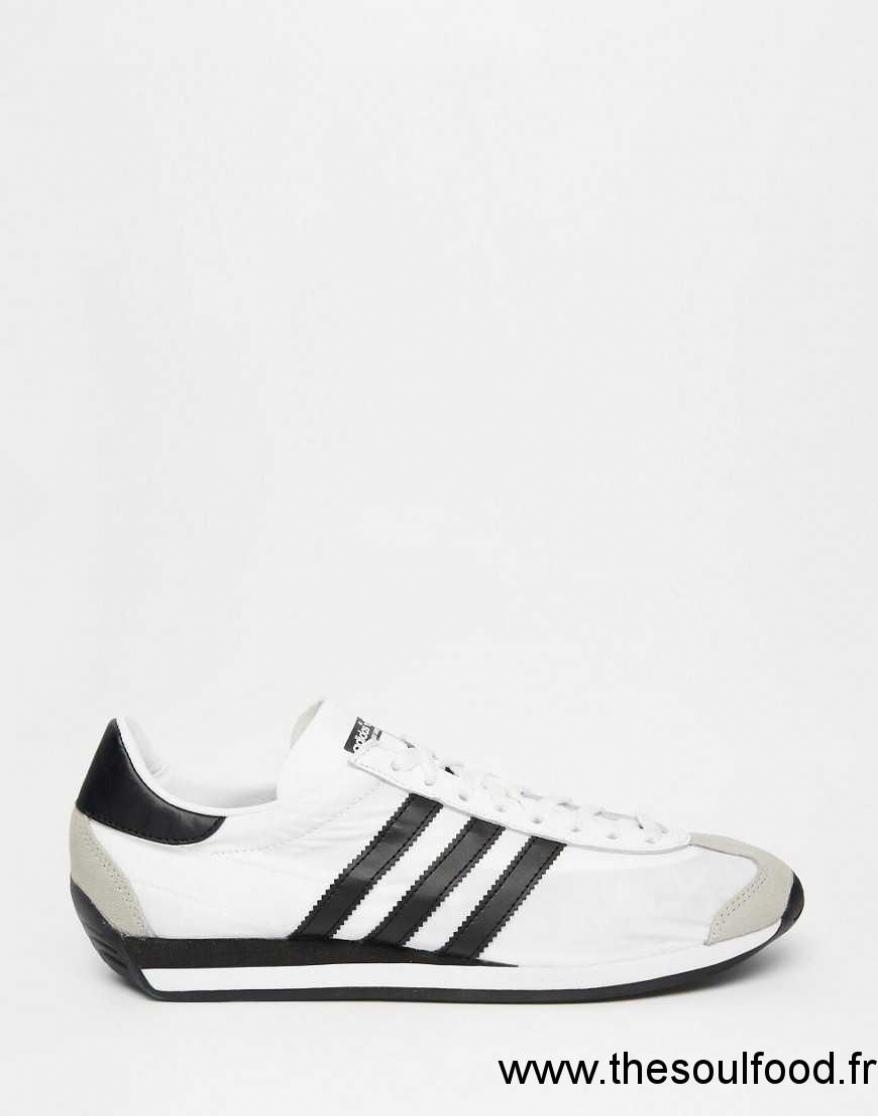 really comfortable wholesale sales new list Adidas Originals - Country Og - Baskets Homme Blanc ...