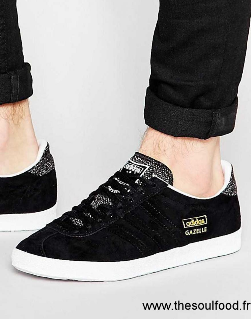 Adidas Originals - Gazelle Og B35199 - Baskets Homme Noir Chaussures | Adidas Originals France HH3500181