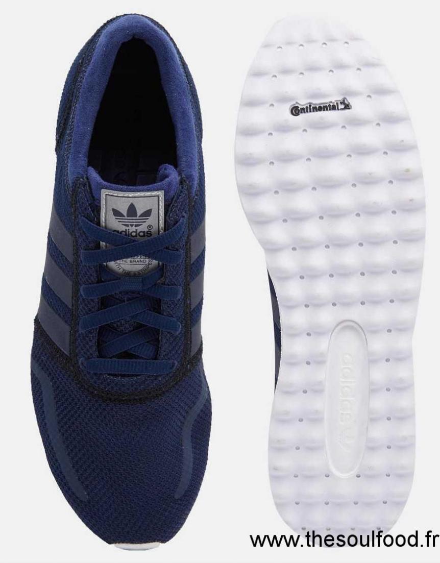 Baskets Adidas Originals Los Angeles S79020 Bleu. Adidas