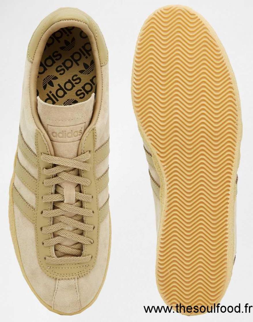pas cher pour réduction 31185 5d9a6 Adidas Originals - Topanga S75503 - Baskets Homme Beige ...