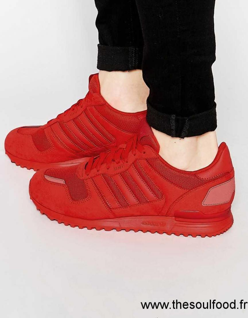 pretty nice 6cfc9 ba0d5 Adidas Originals - Zx 700 S79188 - Baskets Homme Rouge Chaussures   Adidas  Originals France DJ4100104