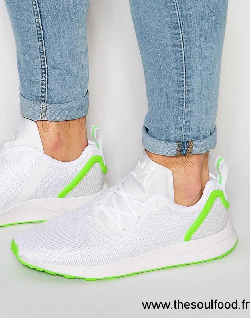 best loved 5fc03 27447 Adidas Originals - Zx Flux Aq3166 - Baskets Asymétriques Homme Gris  Chaussures   Adidas Originals France EJ1300135