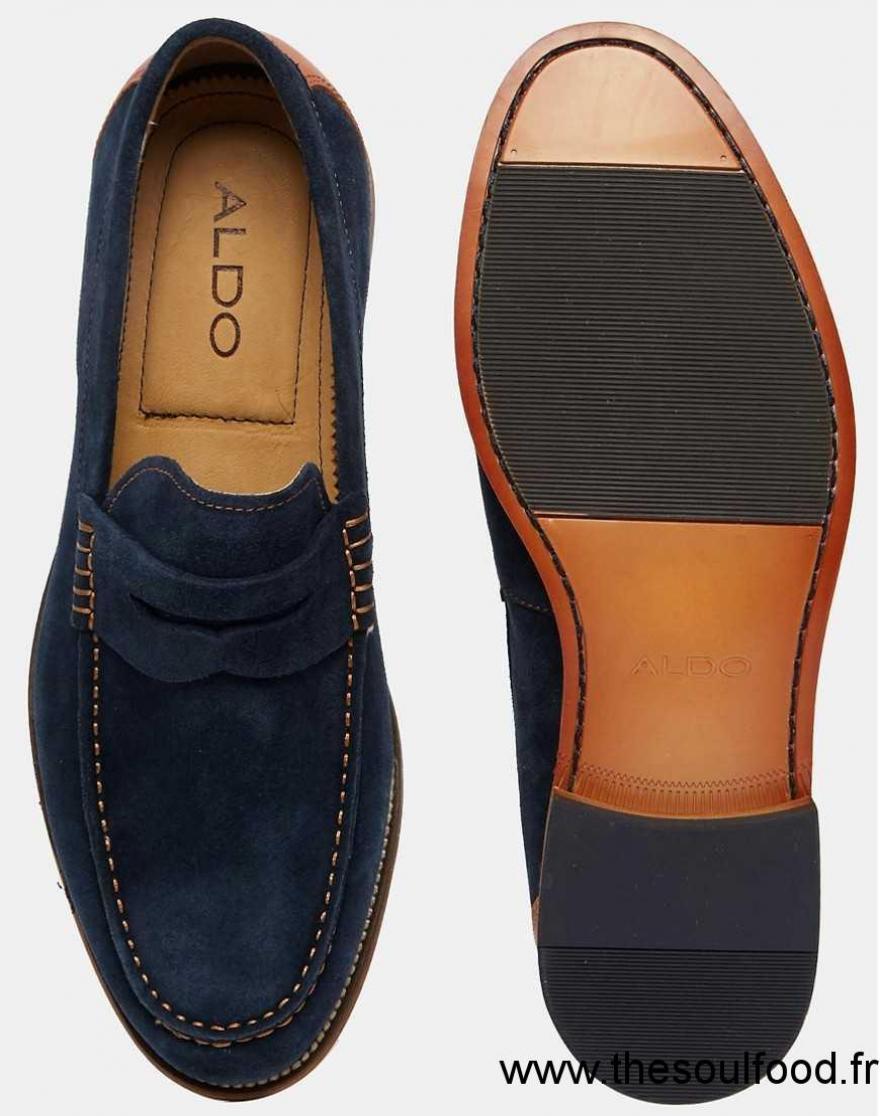 aldo cynfran mocassins homme bleu marine chaussures. Black Bedroom Furniture Sets. Home Design Ideas