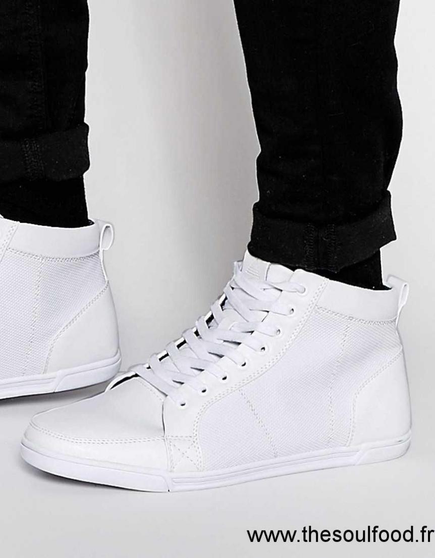 Aldo - Vaywen - Baskets Montantes Homme Blanc Chaussures   Aldo France  LQ8500260 e53a2ae86663