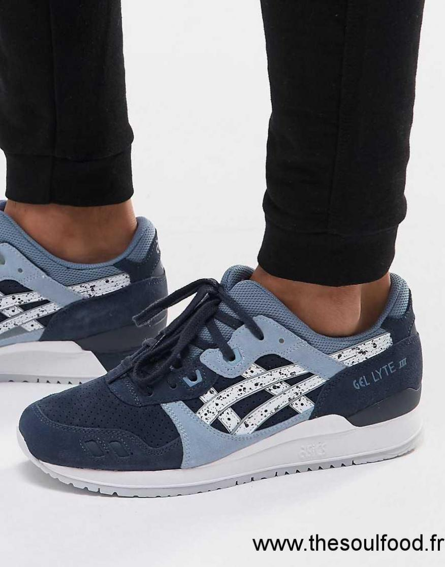 chaussure asics bleue hommes
