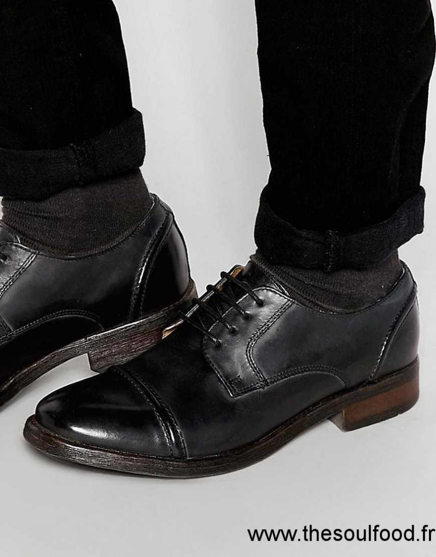 base london dales chaussures derby homme noir chaussures base london france jz64001569. Black Bedroom Furniture Sets. Home Design Ideas