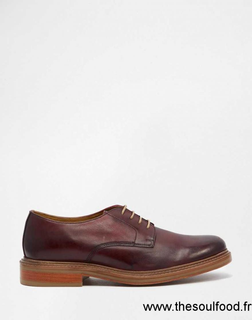 base london sinclair chaussures derby homme rouge chaussures base london france pb46001559. Black Bedroom Furniture Sets. Home Design Ideas