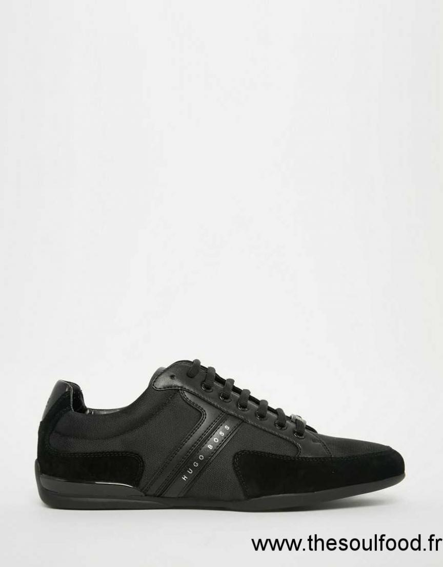 boss green spacit baskets homme noir chaussures hugo boss france bd76002464. Black Bedroom Furniture Sets. Home Design Ideas
