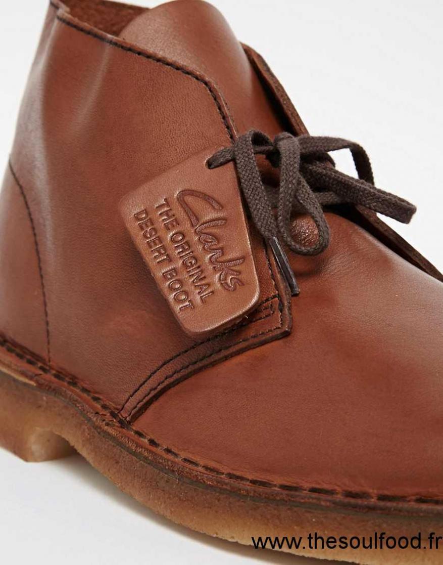 clarks originals chaussures montantes chukka en cuir. Black Bedroom Furniture Sets. Home Design Ideas