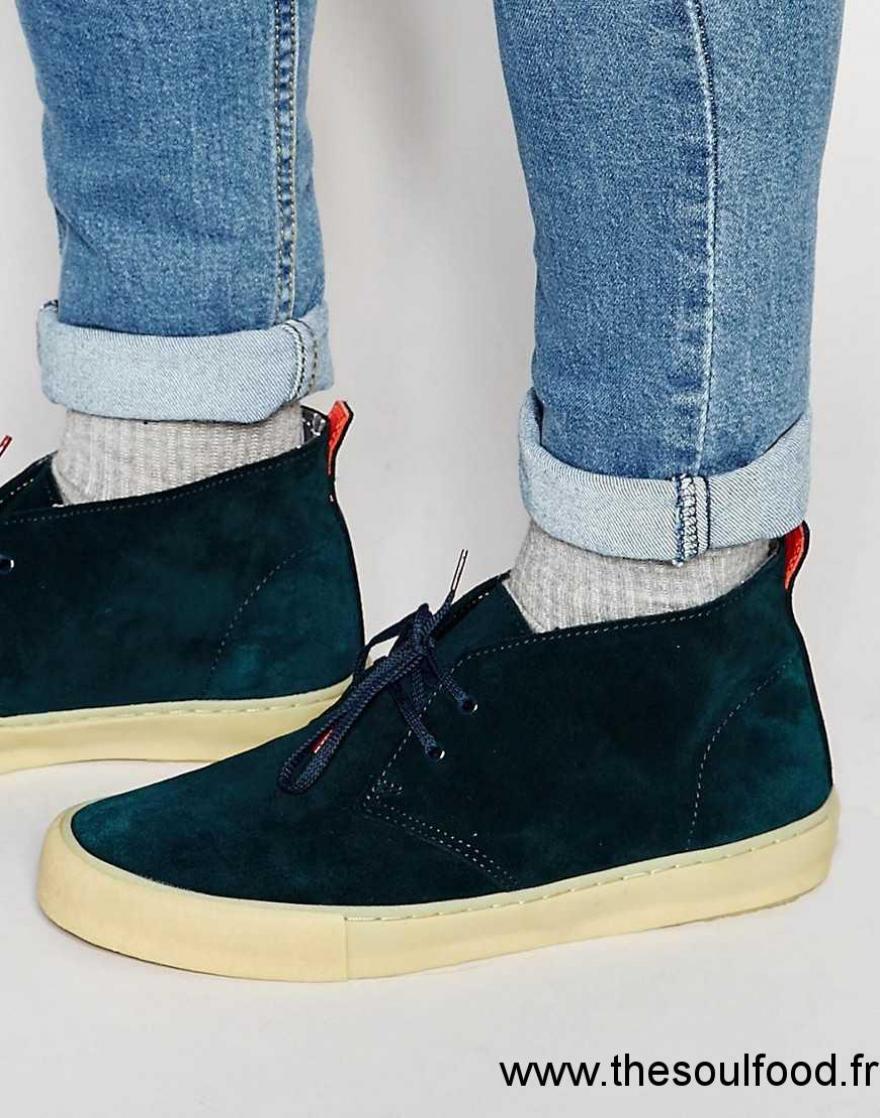 Originals Boots Homme Desert Vulc Clarks Desert Bleu LqpSUzMVG