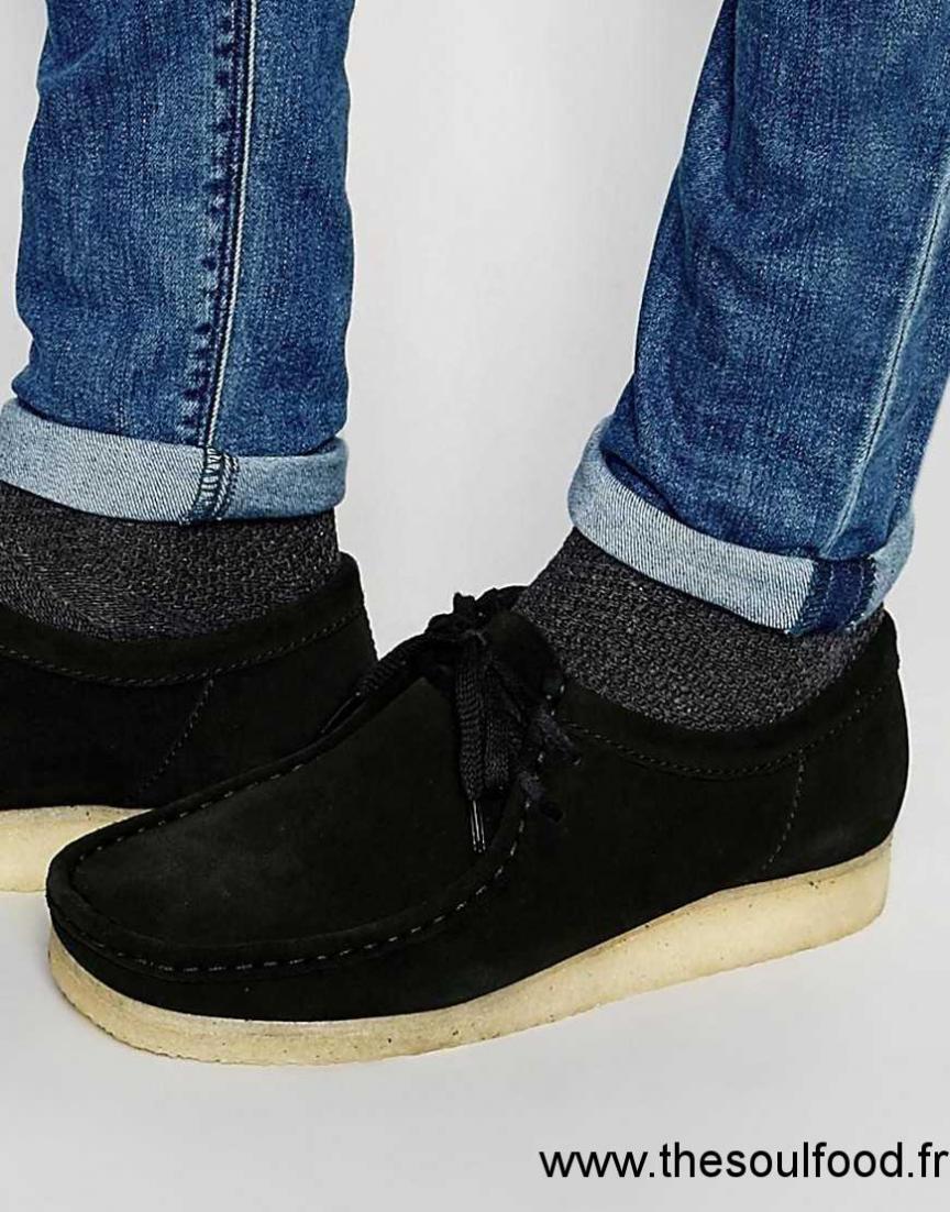 4232db2a7acf1 Noir En Clarks Wallabee Homme Chaussures Originals Daim 4CYqxanFw