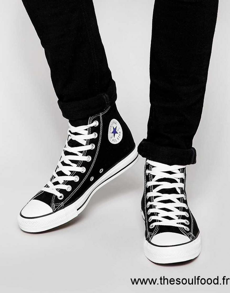 3f83c703bcfbf Converse - All Star - Baskets Montantes Homme Noir Chaussures ...