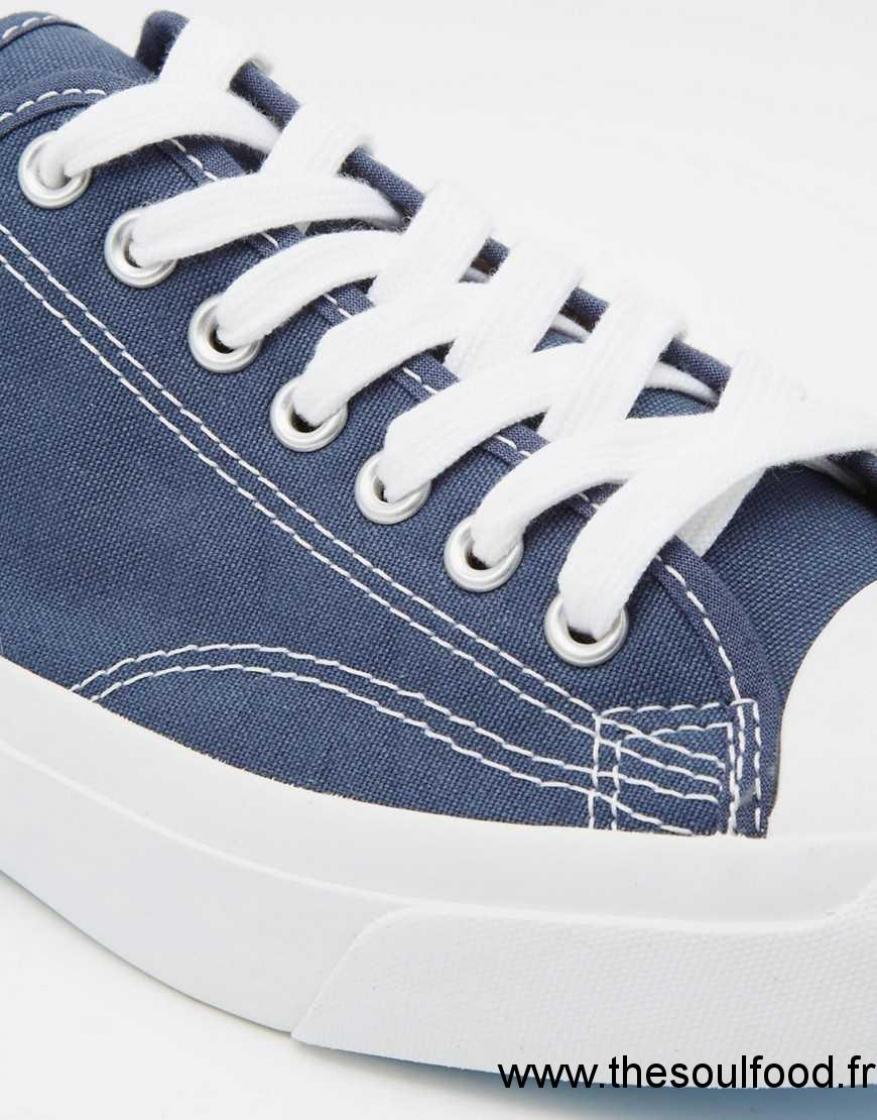 Converse All Star Jack Purcell Baskets Homme Bleu Chaussures
