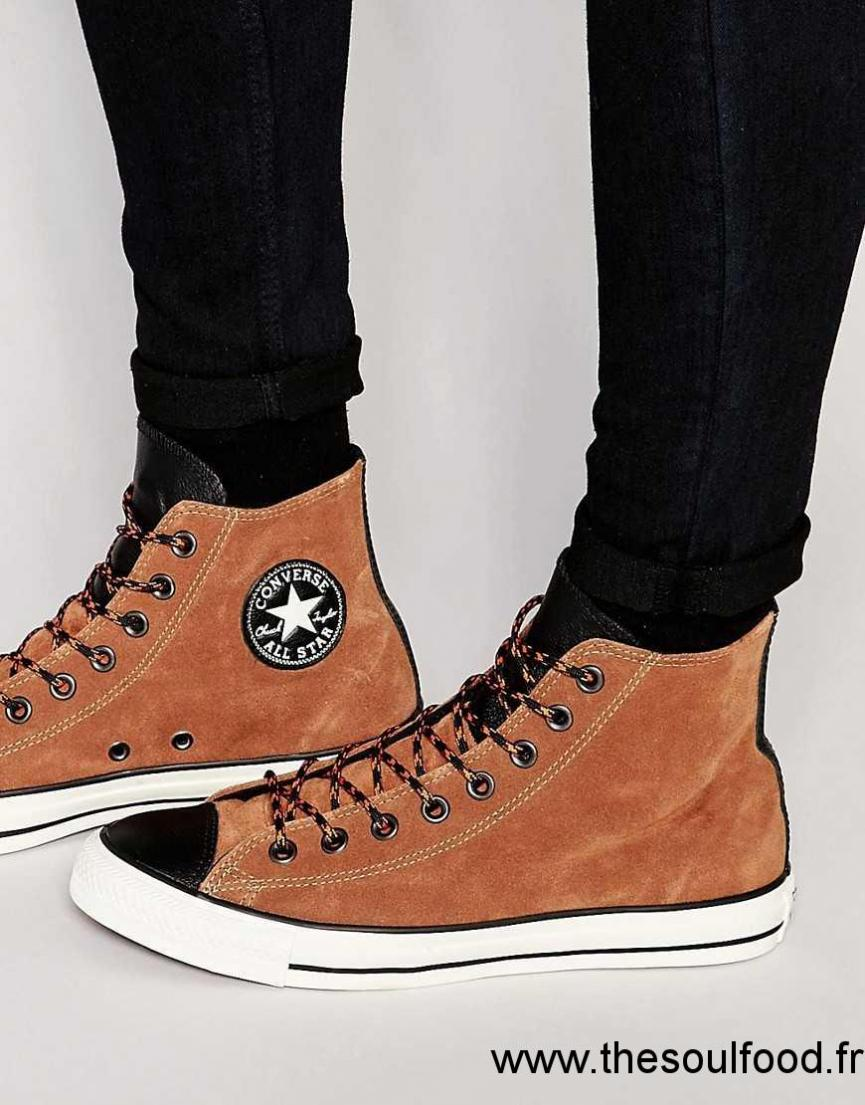 Converse - Chuck Taylor All Star - Tennis Homme Marron ...