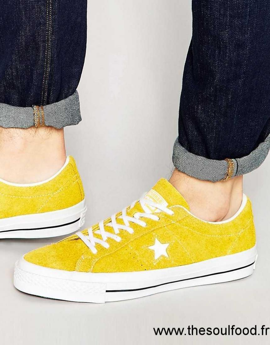converse star player jaune